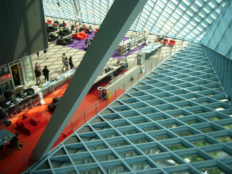 seattle public library koolhaas