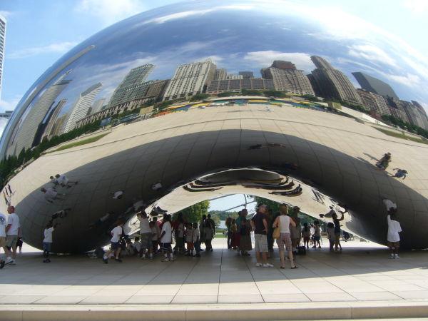 the bean chicago millennium park