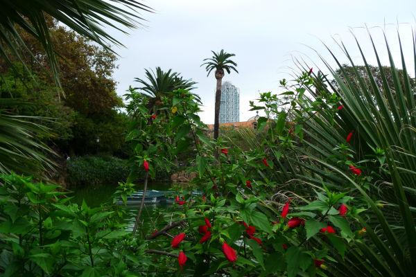 parc ciutadella mapfre tower barcelona