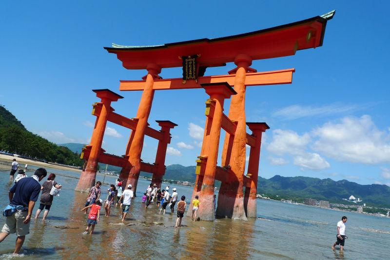 miyajima toori gate