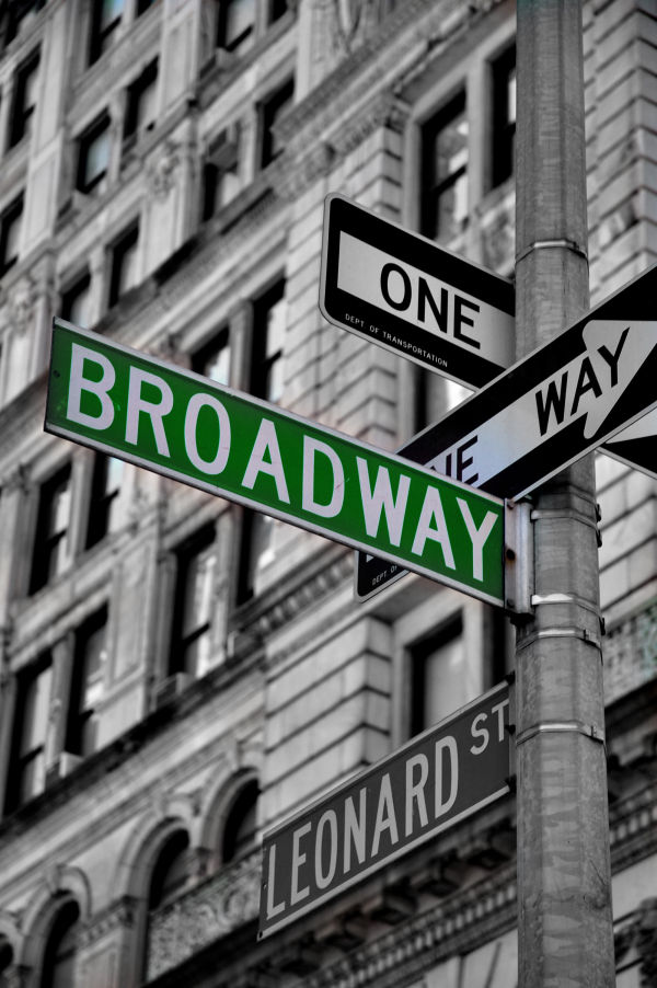 Broadway Signs.