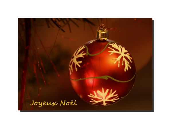 Merci pour vos Voeux.... et Joyeux Noël ......