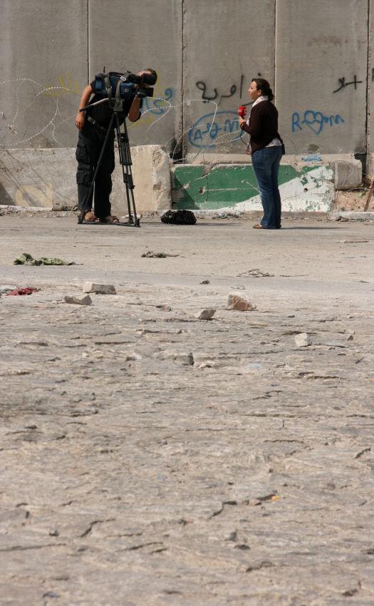 Kalandiya checkpoint, West Bank 3