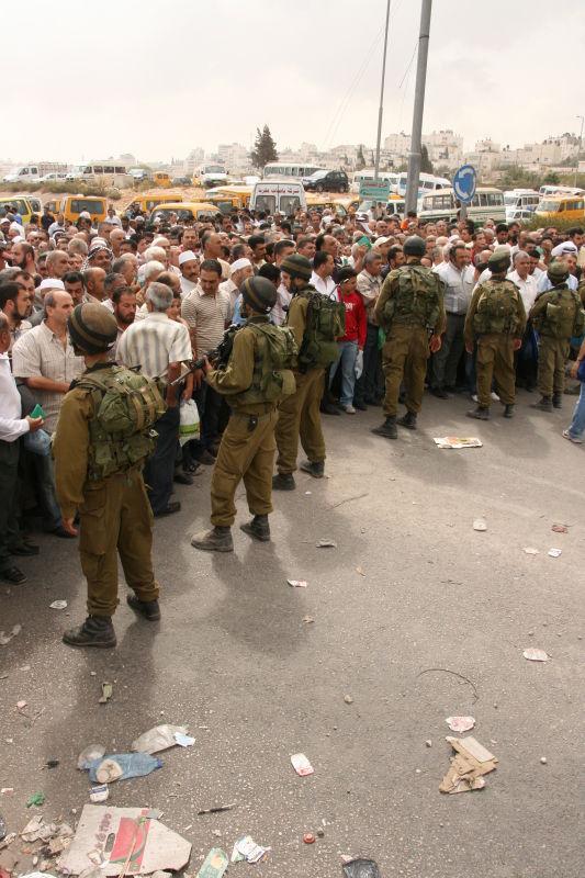 Kalandiya checkpoint, West Bank 5