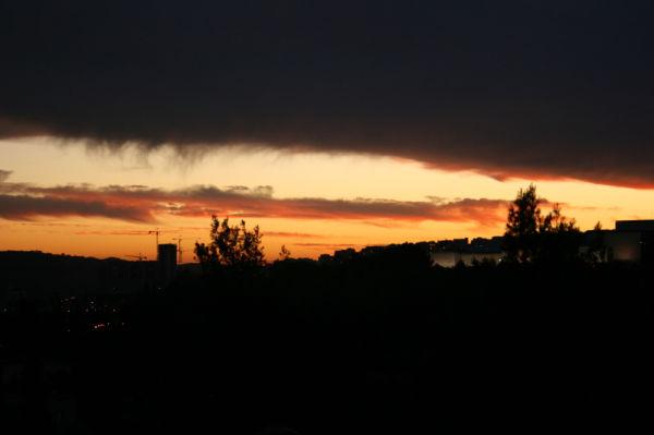 Sky over Jerusalem