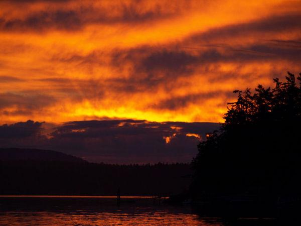 Sunrise Friday Harbor