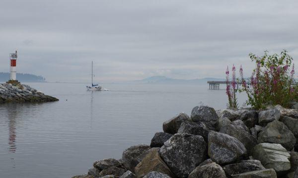 Jetty Port Sidney British Columbia