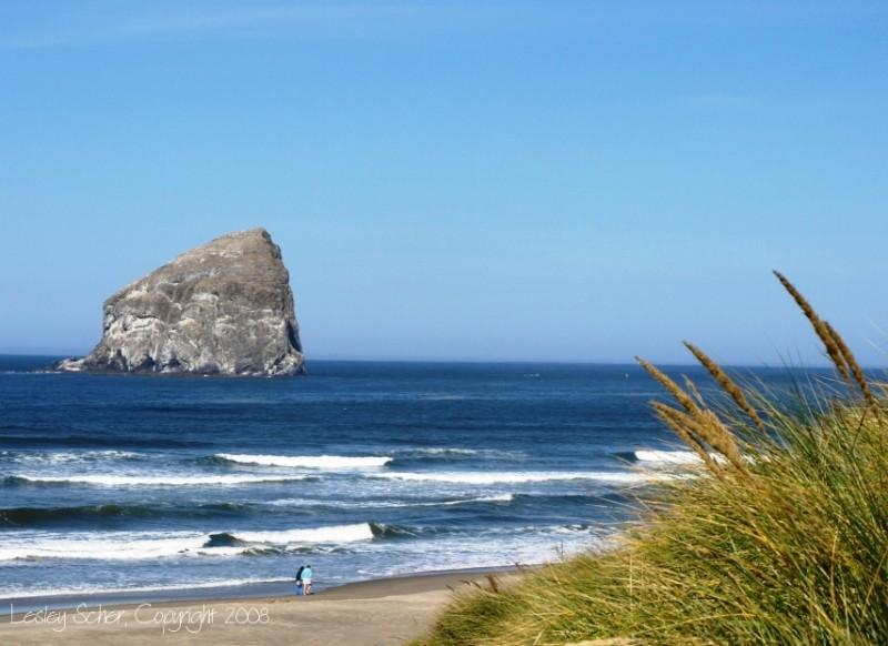 Beach Haystack Oregon
