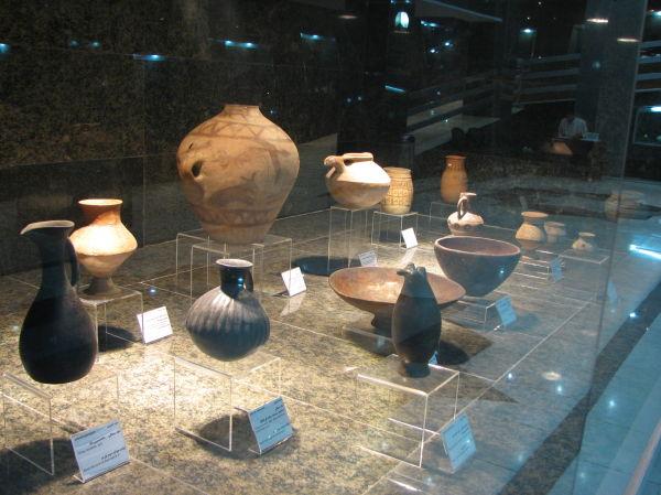 Pre-Islam Objects, Qazvin Museum, Qazvin, Iran
