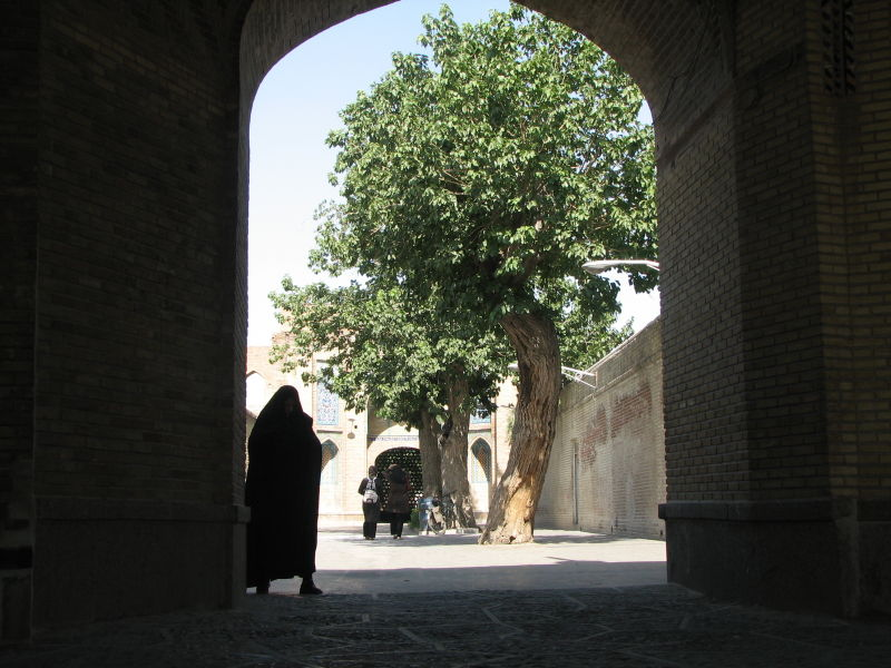 Main Entrance, Great (Atiq) Mosque, Qazvin, Iran