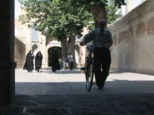 Entering Corridor, Great (Atiq) Mosque, Qazvin, Ir