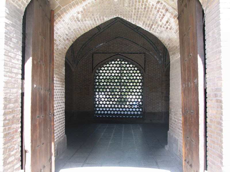 Inner Entrance, Great (Atiq) Mosque, Qazvin, Iran