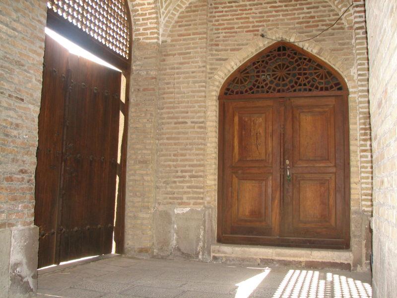 Inner Entrance, Great (Atiq) Mosque, Qazvin