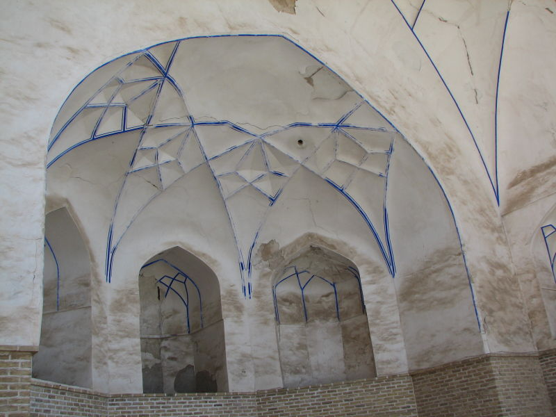 Porch, Great (Atiq) Mosque, Qazvin, Iran