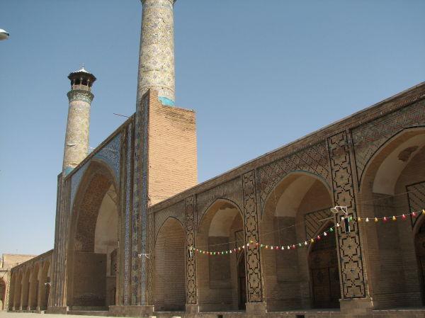 Great Porch, Great (Atiq) Mosque, Qazvin, Iran