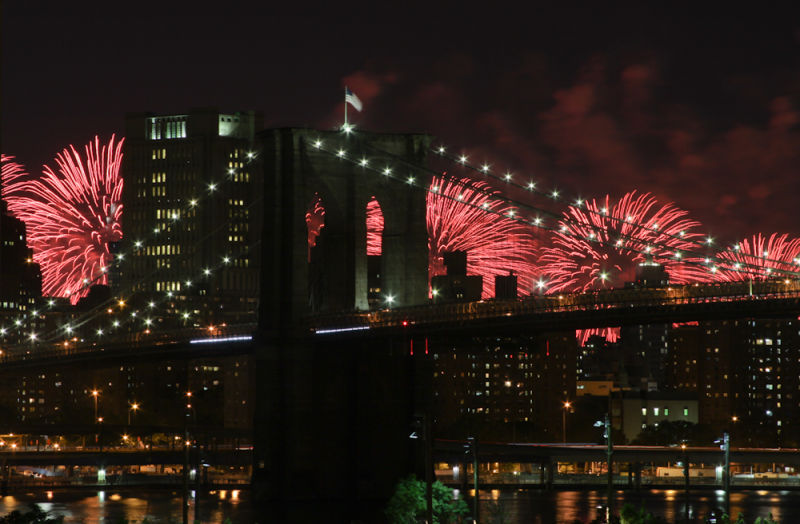 NYC Fourth of July Fireworks