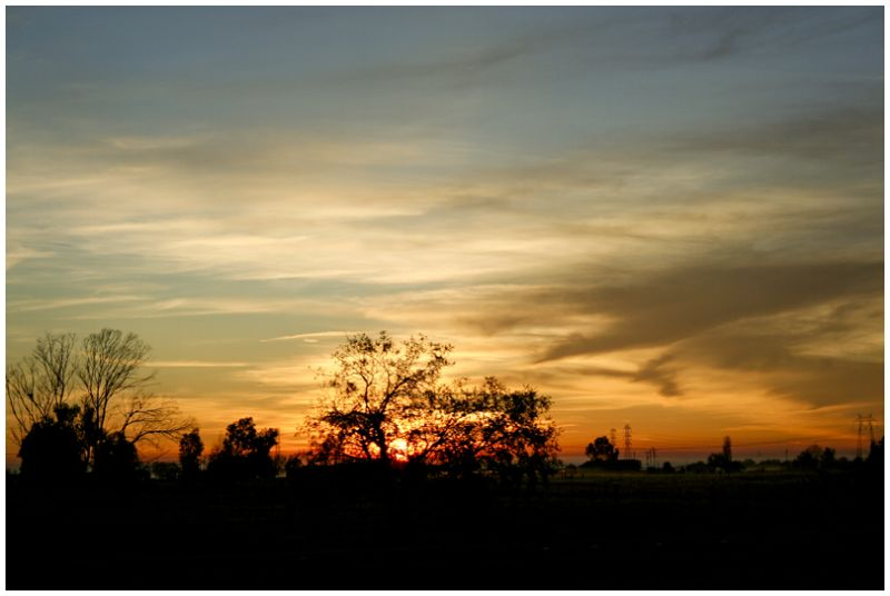 Glowing Sunrise