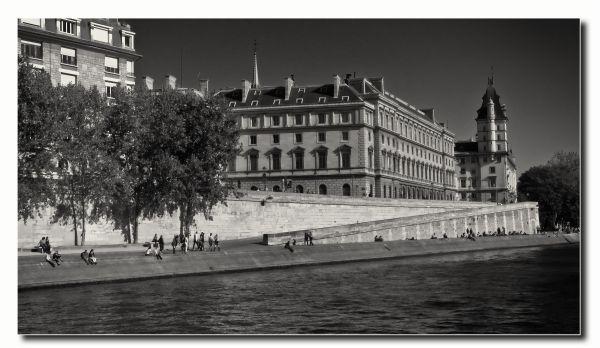 Bords de Seine à Paris