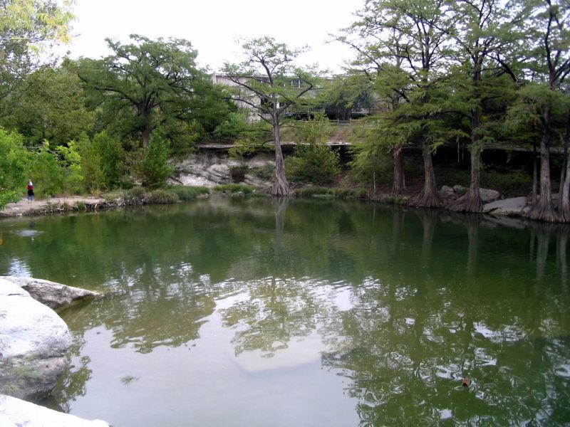 McKinney Falls State Park in Austin, Texas