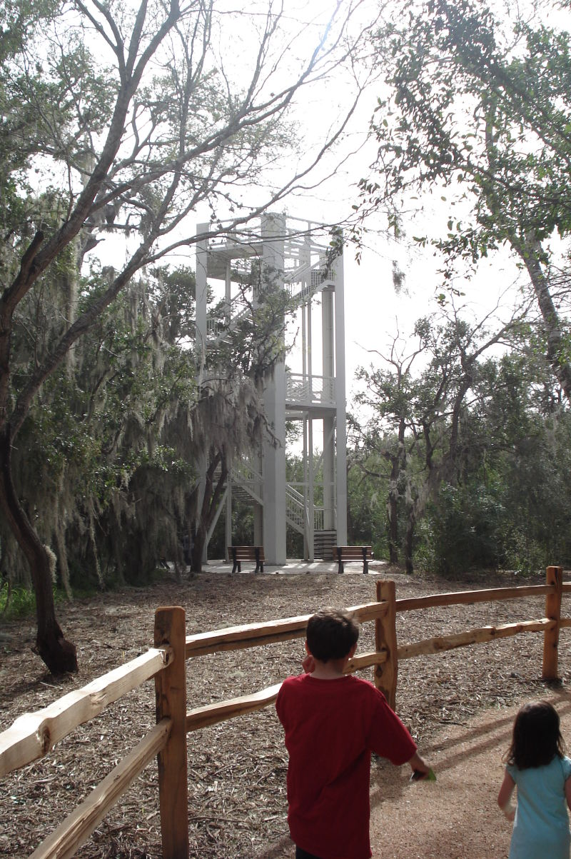 This tower was recently added to Santa Ana.