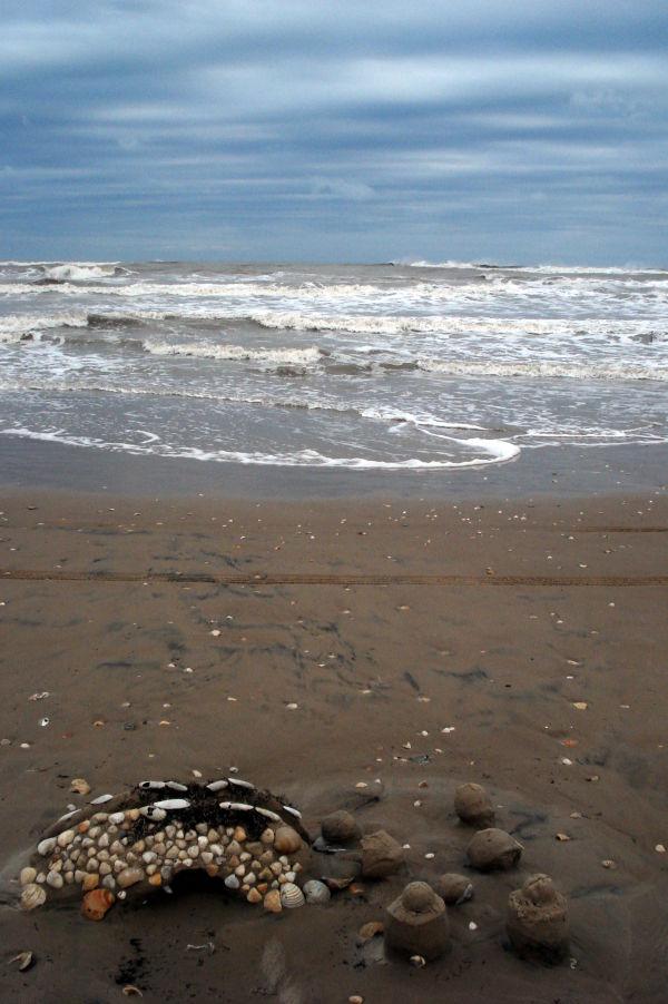 Sand Castle remains