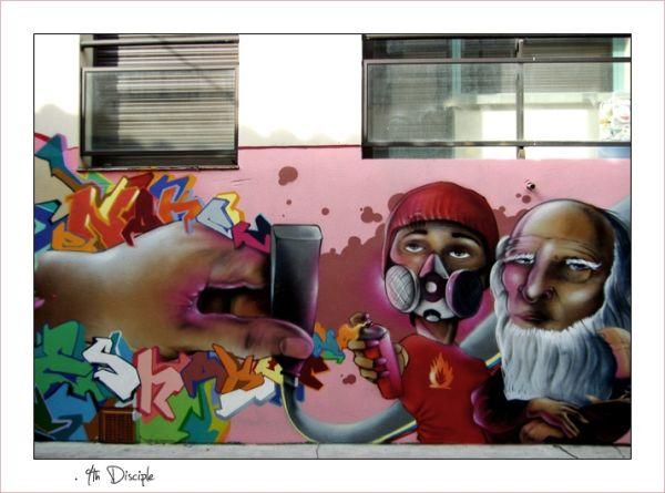 Graffiti à Arnaud bernard #2 - Toxic