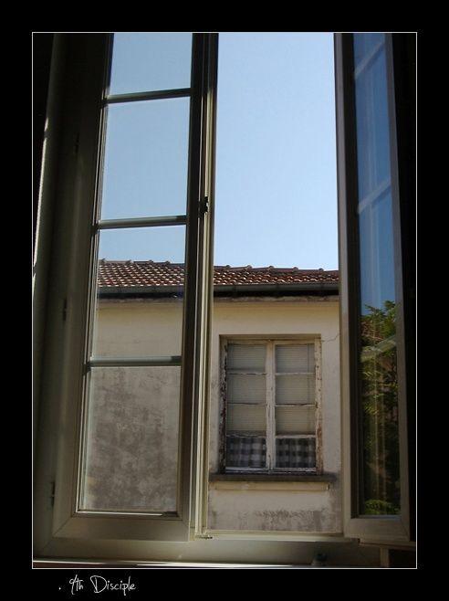 Vue de fenêtre à fenêtre