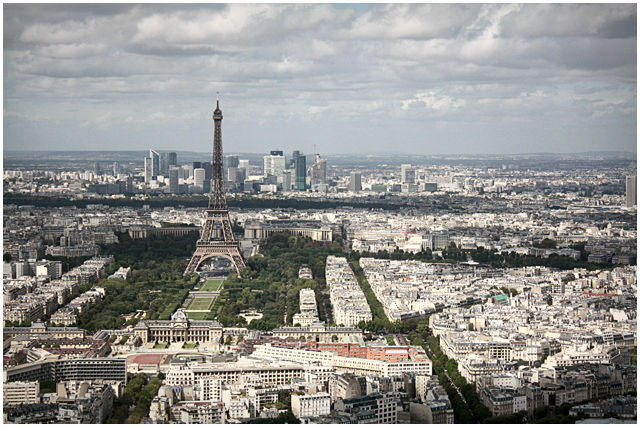 Paris, tower, tour, montparnasse, high,