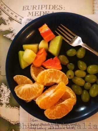 A fruitful study break!