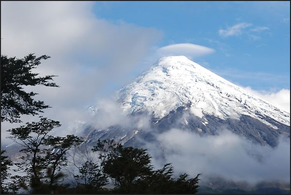 Osorno, volcano