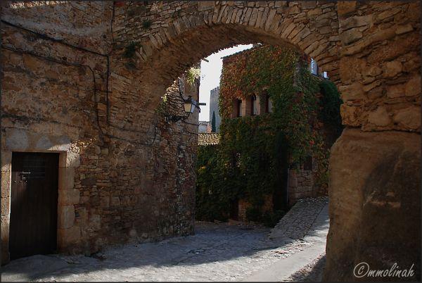 Main entrance at the past