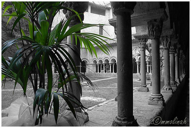 Clautres claustro cloister