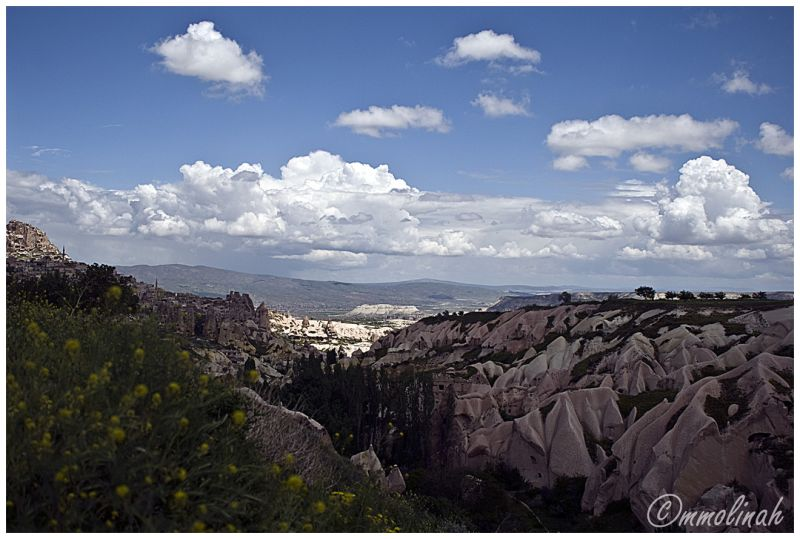 Tipical view of Cappadokia