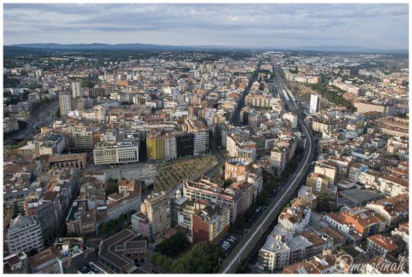 My City aerial series #7 (Railroad)