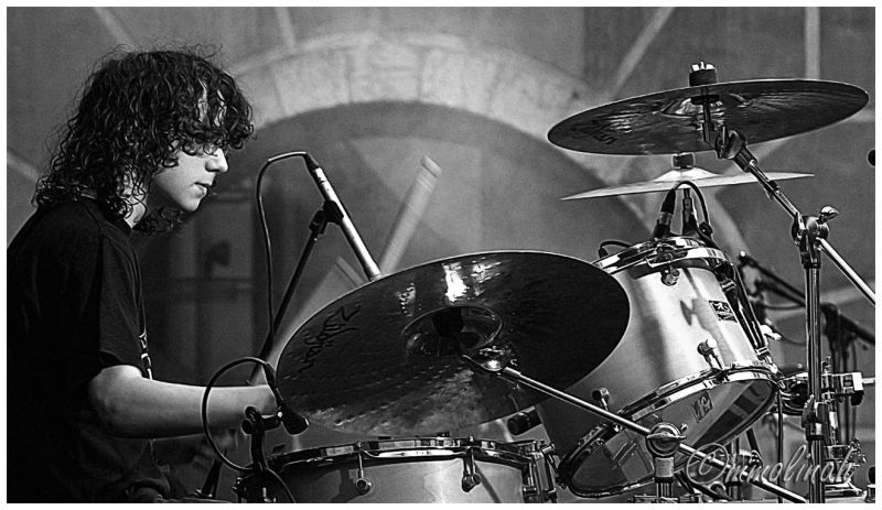 B&W Drummer