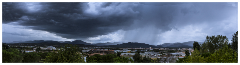 PANORAMIC STORM (From my window collection)