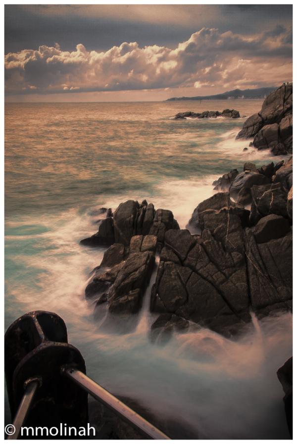 SEA SUNSET COLOUR