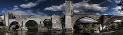 THE BESALÚ BRIGE AGAIN