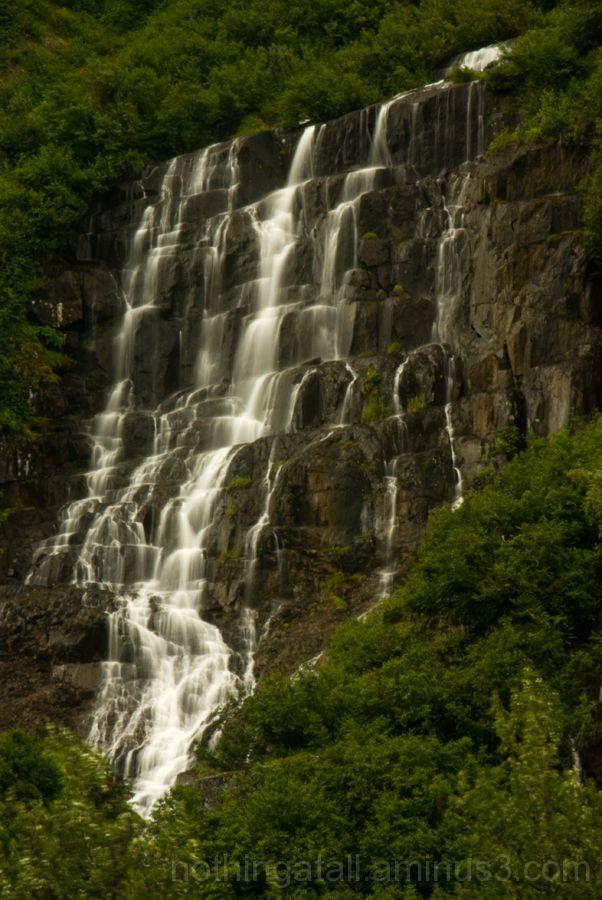 Waterfalls near Stewart, BC