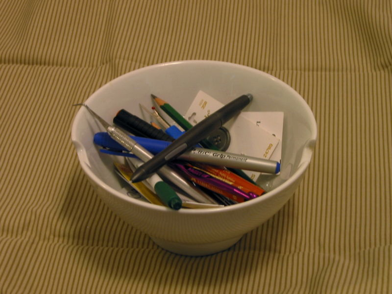 Pens and Sharps and Pickers and Buttons