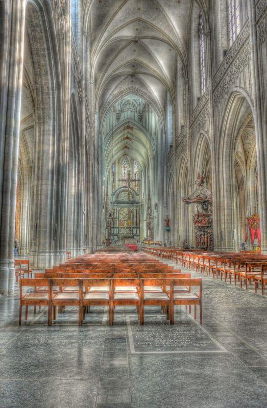 Cathédrale d'Anvers (hdr)