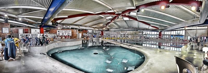 Swimming pool panoramic