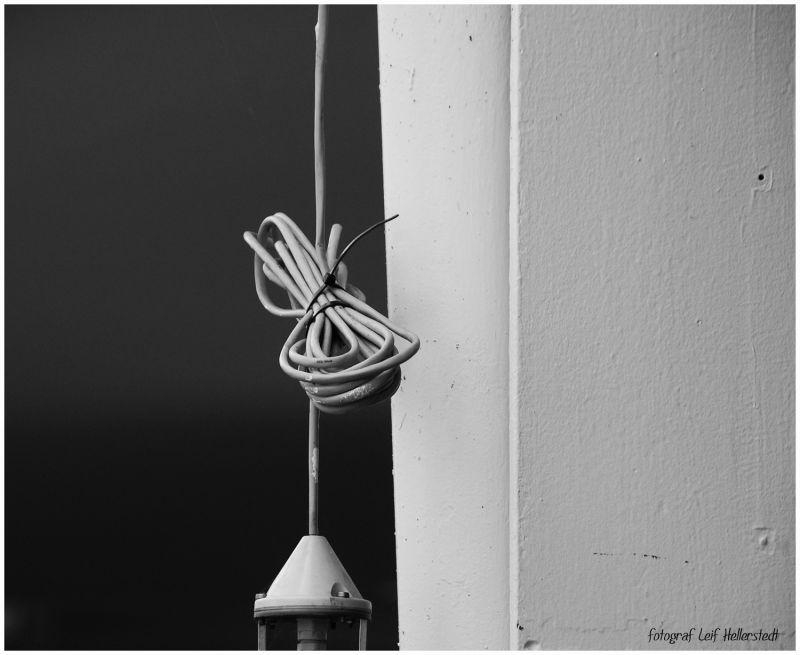 An ordinary power cord