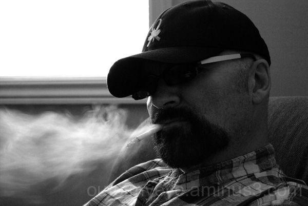 Smoking bear
