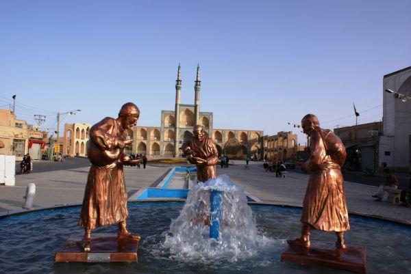 yazd. amir chakhmagh square