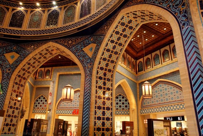Iranian architecture in dubai mall architecture photos for Architecture arabe