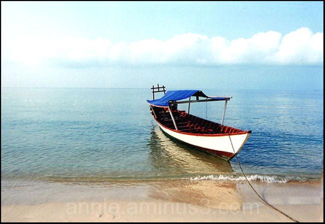 Baie de Kompong Som - Cambodge