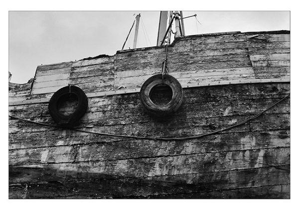 coque bateau vieux