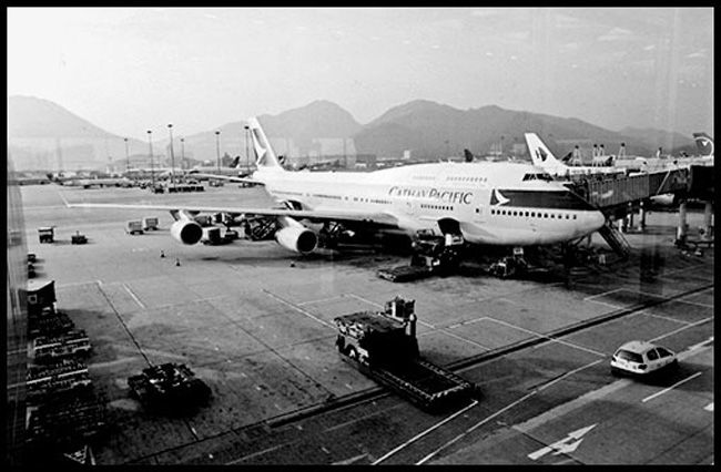 Hong-Kong - aéroport