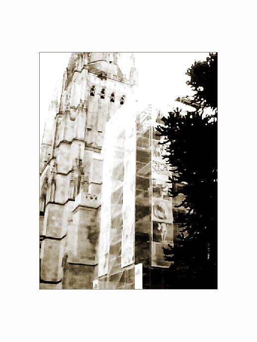Travaux sur la Cathédrale Saint-André - 2/3